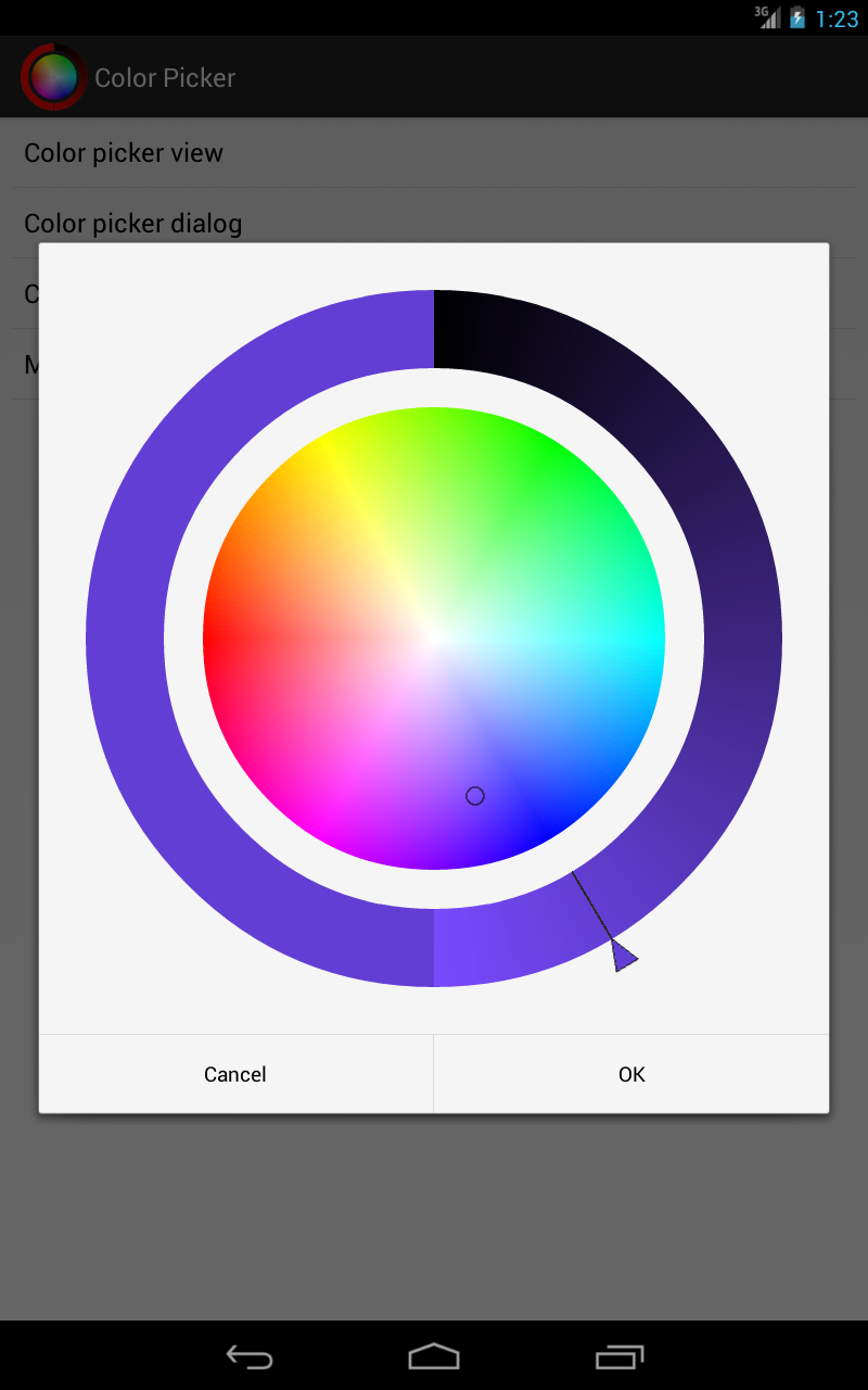Color Picker For Android