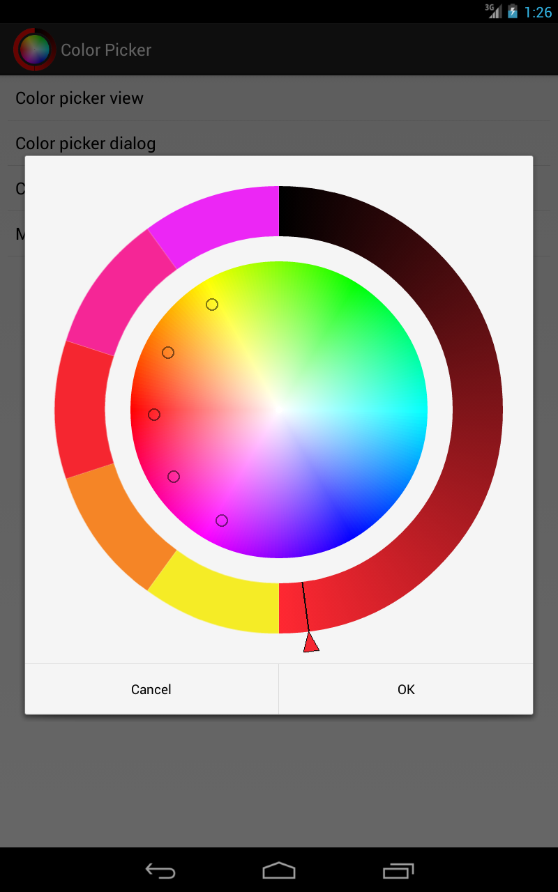 Online yuv color picker - Android Color Picker Android Color Picker Android Color Picker